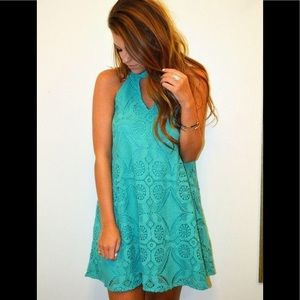 Jade Crochet Dress